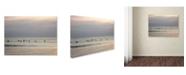 "Trademark Global Monica Fleet 'Harmony' Canvas Art - 19"" x 14"""