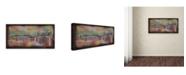 "Trademark Global Ellicia Amando 'San Francisco Bridge' Canvas Art - 24"" x 47"""