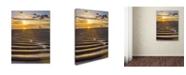 "Trademark Global PIPA Fine Art 'Sandbars' Canvas Art - 24"" x 32"""