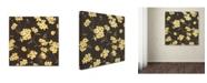 "Trademark Global Stephanie Marrott 'Yellow Blossoms' Canvas Art - 24"" x 24"""