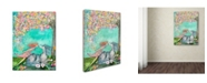"Trademark Global Wyanne 'Big Eyed Girl The Promise' Canvas Art - 35"" x 47"""