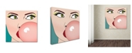 "Trademark Global Mark Ashkenazi 'Foto Bubble Gum' Canvas Art - 24"" x 24"""