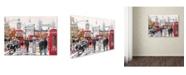 "Trademark Global The Macneil Studio 'London Collagex2 Copy' Canvas Art - 35"" x 47"""