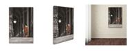 "Trademark Global Erik Brede 'The Gatekeeper' Canvas Art - 30"" x 47"""