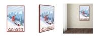 "Trademark Global Lantern Press 'Travel 31' Canvas Art - 30"" x 47"""