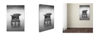 "Trademark Global Moises Levy 'Poesia Acuatica' Canvas Art - 22"" x 32"""