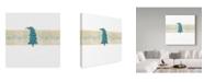 "Trademark Global Jessmessin 'Chrismukkah Image' Canvas Art - 24"" x 24"""