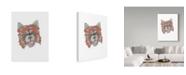 "Trademark Global Jessmessin 'Red Panda' Canvas Art - 35"" x 47"""