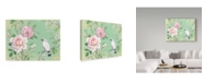 "Trademark Global Maria Rytova 'White Bird' Canvas Art - 35"" x 47"""