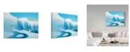 "Trademark Global Ron Parker 'Winter Mist' Canvas Art - 35"" x 47"""