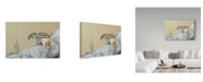 "Trademark Global Rusty Frentner 'Chipmunk' Canvas Art - 22"" x 32"""