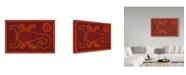 "Trademark Global Willow Bascom 'Scorpio' Canvas Art - 22"" x 32"""
