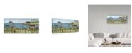"Trademark Global Robin Betterley 'Coastal View' Canvas Art - 32"" x 14"""