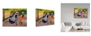 "Trademark Global Paul Gauguin 'The Siesta' Canvas Art - 24"" x 18"""
