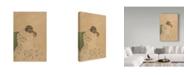 "Trademark Global Mary Stevenson Cassatt 'Mothers Kiss' Canvas Art - 32"" x 22"""