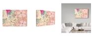 "Trademark Global Jennifer Mccully 'Three Little Birds B' Canvas Art - 47"" x 30"""