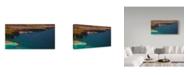 "Trademark Global Jason Matias 'Salerno' Canvas Art - 32"" x 16"""