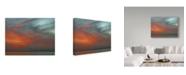"Trademark Global J.D. Mcfarlan 'Lanier Bridge' Canvas Art - 47"" x 35"""