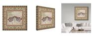 "Trademark Global Jean Plout 'Bohemian Dragonfly 1' Canvas Art - 35"" x 35"""
