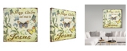 """Trademark Global Jean Plout 'Stay Calm Jesus Butterflies' Canvas Art - 35"""" x 35"""""""