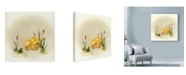 "Trademark Global Peggy Harris 'Its Always Something' Canvas Art - 35"" x 35"""