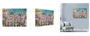 "Trademark Global Let Your Art Soar 'Flower Power Phrase' Canvas Art - 32"" x 24"""