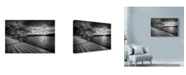 "Trademark Global Maciej Duczynski 'Sweden Pier' Canvas Art - 47"" x 30"""