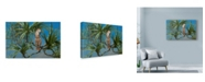 "Trademark Global Michael Jackson 'Mullocan' Canvas Art - 24"" x 16"""