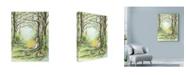 "Trademark Global Michelle Faber 'Forest Meditation' Canvas Art - 35"" x 47"""