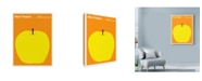 "Trademark Global Print Collection - Artist 'West Virginia Apple' Canvas Art - 24"" x 32"""