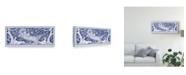 """Trademark Global Walter Crane 'Woman Reclining' Canvas Art - 47"""" x 20"""""""