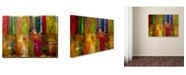 "Trademark Global Michelle Calkins 'Color Abstract' Canvas Art - 32"" x 24"""