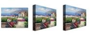 "Trademark Global 'Mediterranean Blue' Canvas Art - 47"" x 35"""