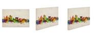 "Trademark Global Michael Tompsett 'Sydney Skyline' Canvas Art - 47"" x 30"""