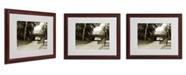 "Trademark Global Miguel Paredes 'Passage I' Matted Framed Art - 20"" x 16"""
