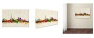 "Trademark Global Michael Tompsett 'Toronto Canada' Canvas Art - 32"" x 22"""