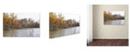 """Trademark Global Monica Fleet 'Just a Wonder' Canvas Art - 47"""" x 30"""""""