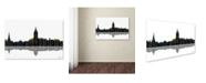 "Trademark Global Marlene Watson 'Annapolis Maryland Skyline' Canvas Art - 30"" x 47"""
