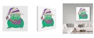 "Trademark Global Jessmessin 'Eyed Goblin' Canvas Art - 14"" x 14"""