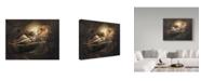 "Trademark Global Kirk Reinert 'Ida Love' Canvas Art - 14"" x 19"""
