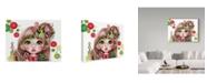 "Trademark Global Sheena Pike Art And Illustration 'Ginger' Canvas Art - 14"" x 19"""