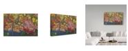 "Trademark Global Tricia Reilly-Matthews 'Basket Full Of Love' Canvas Art - 12"" x 19"""