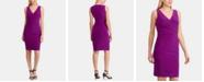 Lauren Ralph Lauren Ruched Sleeveless Jersey Dress