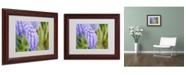 "Trademark Global Monica Fleet 'Pulchritudinous' Matted Framed Art - 14"" x 11"""