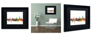 "Trademark Global Michael Tompsett 'Pretoria South Africa Skyline' Matted Framed Art - 11"" x 14"""