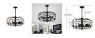 Safavieh Larsin Ceiling Light Fan