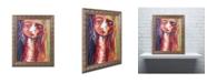 "Trademark Global Echemerdia 'Sweet Sixteen' Ornate Framed Art - 14"" x 11"""