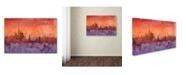 "Trademark Global Michael Tompsett 'New York Skyline IV' Canvas Art - 12"" x 19"""