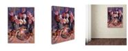 "Trademark Global David Lloyd Glover 'Still Life Apres Manet' Canvas Art - 35"" x 47"""