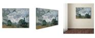 "Trademark Global Claude Monet 'Gare Saint-Lazare Arrival of a Train' Canvas Art - 47"" x 35"""